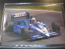 Postcard Gitanes Ligier Renault JS27 1986 #25 René Arnoux (FRA)