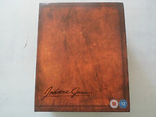 Indiana Jones The Complete Adventures Limited Edition Blu Ray Box set