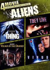 4 Movie Midnight Marathon Pack: Aliens (DVD, 2014)