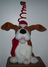 Kids of America Animated Plush Christmas Dog/SINGS Santa Claus is Coming to Town