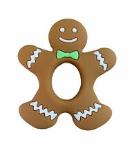 Christmas Gift Gingerbread Man Baby's first Christmas Baby Teether Sensory Toy