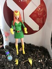 """Marvel Legends Jean Grey Girl 6"""" X-Men House of X No BAF Tri Sentinel - Loose"""