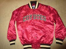 Arizona Coyotes Starter NHL Hockey Satin Jacket M Medium mens