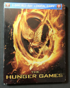 The Hunger Games [ Limited Edition STEELBOOK ] (Blu-ray Disc) NEW