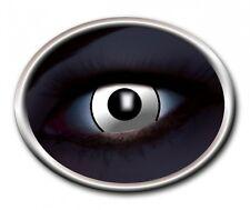 ZOE UV MANSON WHITE lentille de couleur blanche lens contact halloween vampire