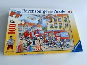 100 Pieces XXL Puzzle - Our Fire Brigade - Ravensburger - 100% Complete - A1