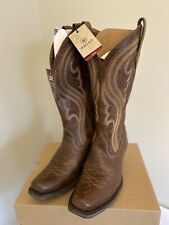 WOMENS ARIAT LIVELY SASSY BROWN COWBOY/WESTERN BOOTS SZ 6.5 B
