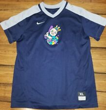 Nike New Orleans Baby Cakes Blue jersey T Shirt youth XL MiLB