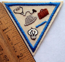 Girl Scout 1989-98 Brownie CAREERS TRY-IT Badge Patch Jobs Chef Doctor Lawyer