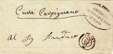 G312-LOMBARDIA, FRANCHIGIA, DA CURA CARPIGNANO A PAVIA, 1865