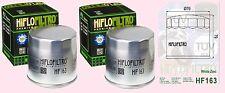 2x HF163 Oil Filter BMW R  R1150  R1150R   R1150RS  &  R1150RT  models 2001-06