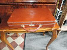 Goldpfeil Aktenkoffer, Aktentasche, Leder Vintage