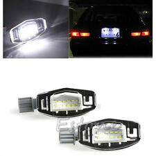 2X License Plate 18LED Light Lamp For 99-14 Honda Accord CRV/Acura MDX TL TSX CT