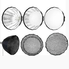 "BOWENS FLASH SOFTBOX 150CM 59"" DEEP HEXADECAGON PARABOLIC HONEYCOMB GRID DSLR PR"