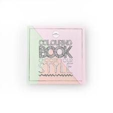 Moyou Nail Mode Creative Livre à Colorier pour Adultes avec Best Moyou Modèles