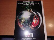 CATALOGO  NATALE 1979 POLISTIL LEGGI DESCRIZIONE
