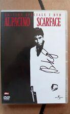 SCARFACE ES 2 DVD + Sheath/Fourreau VF VOST Signed by BRIAN DE PALMA