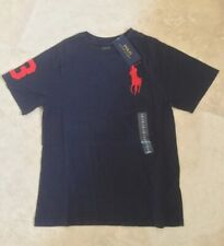 0854a481cd08c Polo Ralph Lauren Boys  Crew Neck T-Shirts   Tops (2-16 Years) for ...