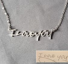 Custom Handwriting Necklace- Personalized Name Necklace- Best gift to show love