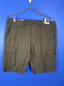 NEW Tommy Hilfiger Green John Cargo Shorts Classic Fit Size 36 BNWT RRP $90