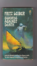 FRITZ LEIBER.SWORDS AGAINSTDEATH.SIGNED. IST ED.NICE COVER BY JEFF JONES.