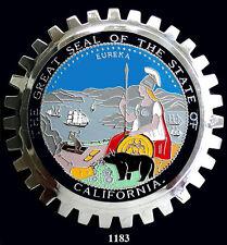 CAR GRILLE EMBLEM BADGES - CALIFORNIA(SEAL)