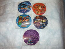 5 Skylanders Giants Character   Stickers Party Favors