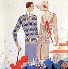 LE COSTUME DE 1914 AUX ANNÉES FOLLES Bénigni Lepape Marty Iribe Mode Fashion 90*