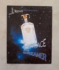 E660 - Advertising Pubblicità -1997- VERSACE THE DREAMER , IL NUOVO PROFUMO