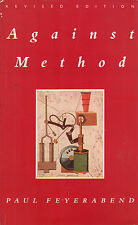 Against method- P.FEYERABEND, 1991 Verso editore, in inglese - ST267