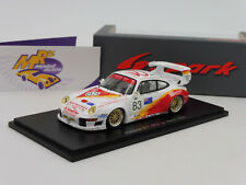 """Spark S5528 # Porsche 911 GT2 No. 83 24h. Le Mans 1996 """" A. Bagnall """" 1:43 NEU"""