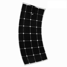 100W 18V Solar Panel Charger Solar Cell Ultra Thin Flexible with MC4 Connector