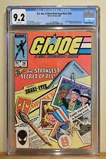 G.I. JOE #26 CGC 9.2 - WHITE PAGES **1st Origin of SNAKE EYES** PART 1 OF 2