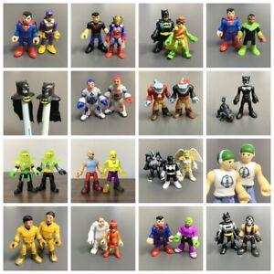 Fisher Price Imaginext DC Super Friends Batman Green Lantern Jokers Figures