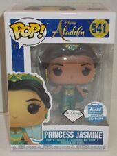 FUNKO POP FUNKO SHOP Exclusive Disney #541 Aladdin Diamond PRINCESS JASMINE MIMB