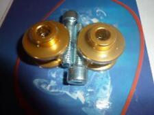 Neuf Paire de diabolos levage or diamètre 10 mm diabolo bequille stand atelier