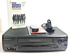 Broksonic VHSA-6687CTTCT  Vintage VCR VHS Recorder Bundle Tested!