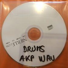 CD DRUMS PERCUS POUR AKAI S5000 S6000 Z4 Z8 FORMAT AKP WAV