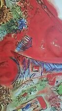 CHAGALL - PARIS OPERA CEILING #3 - LITHOGRAPH - 1964  - FREE SHIPPING IN US