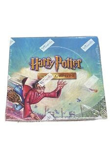 Harry Potter WOTC TCG Quidditch Cup 36 Booster Box Trading Card Game Sealed NEW!