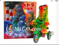 M1 GO Hedorah Tricycle Hedra Bicycle kaiju Soft Vinyl Sofubi Figure Godzilla JP