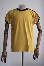 VEB KOTAURA 70er HERRENSPIELERHEMD DDR D8 Trikot gelb Schwarz Shirt True Vintage
