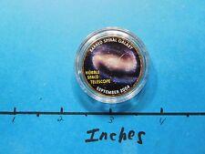 HUBBLE SPACE TELESCOPE 2004 PIC BARRED SPIRAL GALAXY NASA KENNEDY HALF DOLLAR #2
