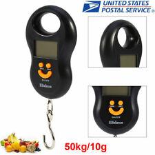 50KG 110Lbs Digital Travel Portable Handheld Weighing Luggage Scale Suitcase Bag
