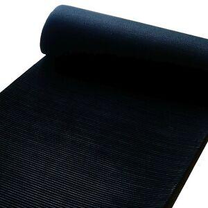 Goldwaschrinne bauen, schwarze Feinriefenmatte, Prospektionsmatte 3mm stark