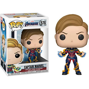 Marvel Avengers Endgame #576 - Captain Marvel with New Hair - Funko Pop!