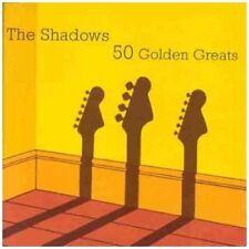 THE SHADOWS - 50 Golden Greats NUEVO CD