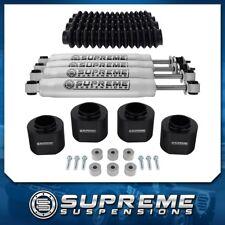 "97-02 JEEP Wrangler TJ Full 3"" Lift Kit +Shocks w/Boots + Transfer Case Drop 4WD"
