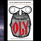 Powered By OLY Beer - Original Vintage 1960's 70's Racing Decal/Sticker Olympia