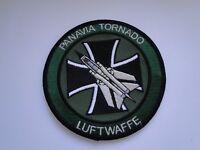 Waffensystem-Aufnäher  Panavia Tornado Luftwaffe  ca 10 cm  mit Klett